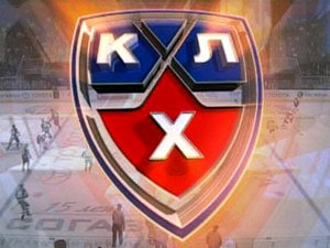 The logo of the modern-day Kontinental Hockey League