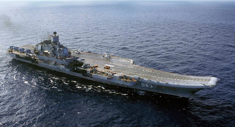 Admiral Kuznetsov, Russia's only operating aircraft carrier