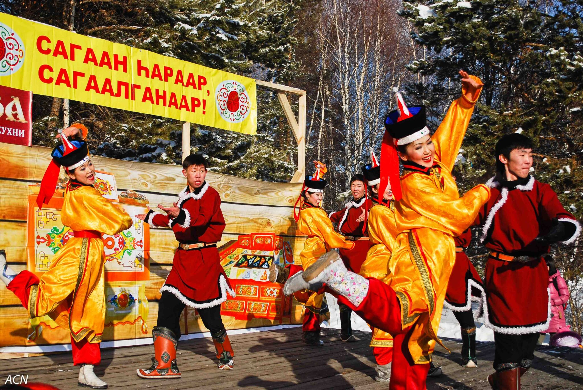 Traditions of the Buryat people: between East and West 68